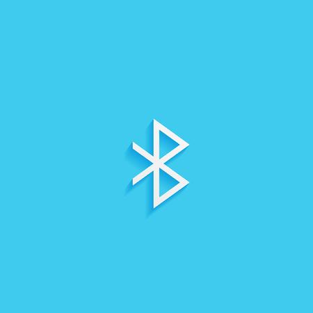 bluetooth: bluetooth vector icon