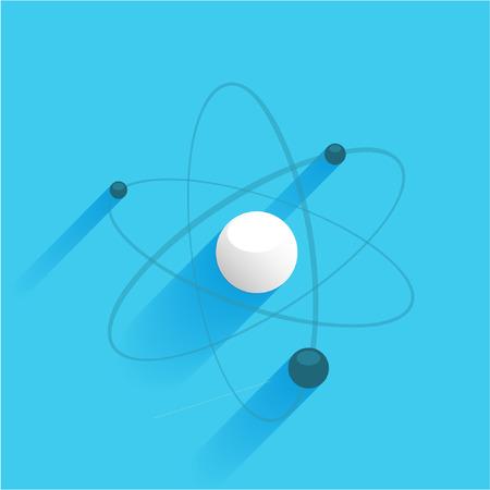 atom icon  イラスト・ベクター素材