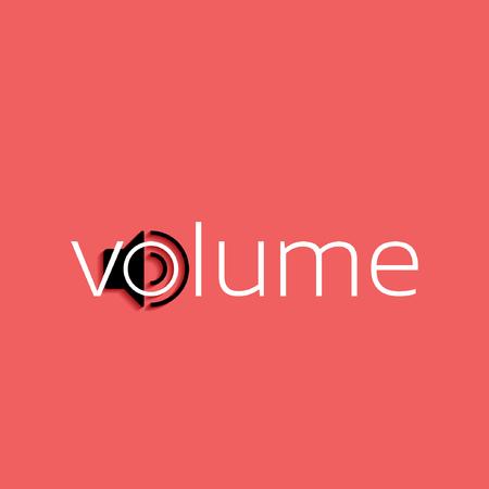 Volume vector symbol
