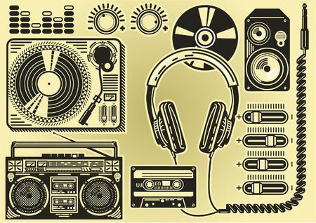 음악 요소 일러스트