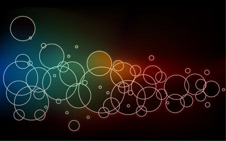 abstract wallpaper: Circle abstract wallpaper Illustration