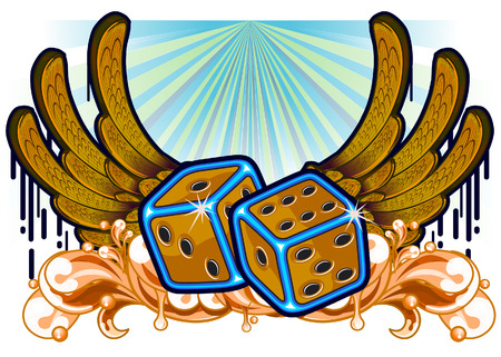 artificial wing: Dice and melted wings