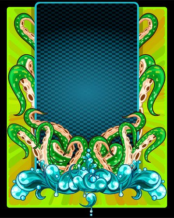 Tentacles frame