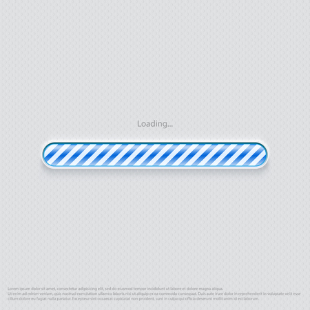 웹 디자인 파란색로드 중
