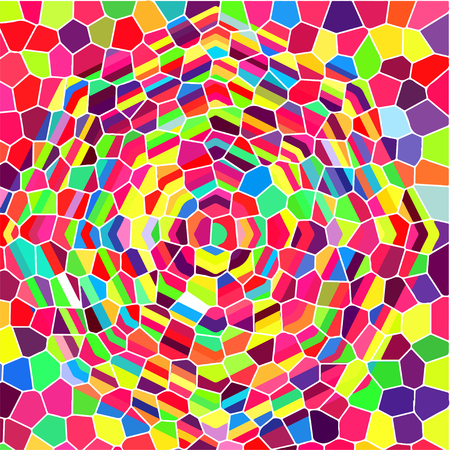 stained-glass window abstract background