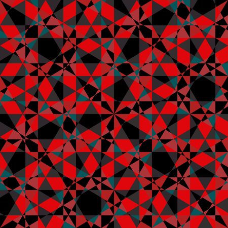 reiteration: Abstract geometric seamless pattern.