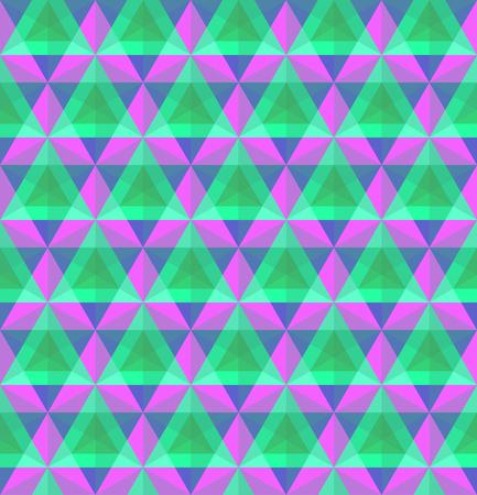 Triangular geometric seamless pattern. 일러스트