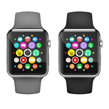 horologe: Smart watch. Vector Illustration. Illustration