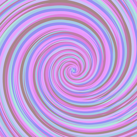 Swirling backdrop. Spiral surface with space for text. Vector Illustration.