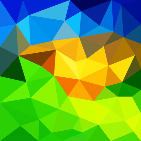 Triangular abstract background.