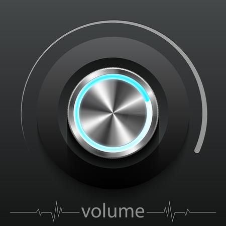 Button volume.