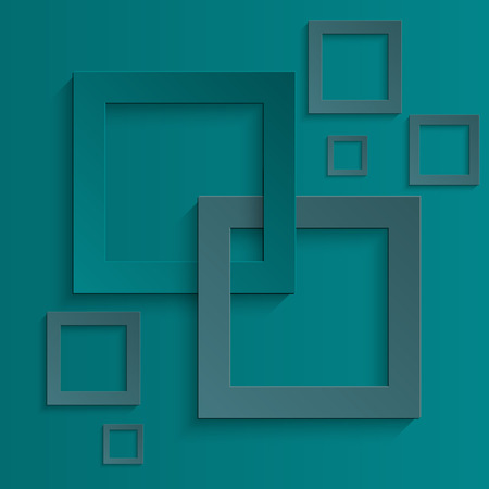 Abstract background squares