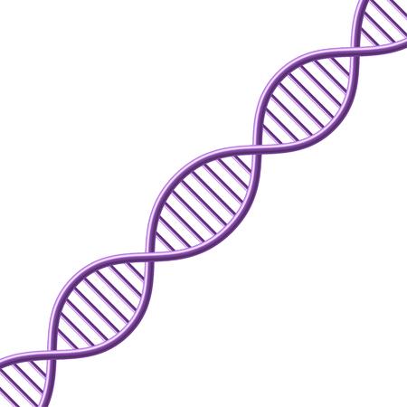 DNA symbol. Vector Illustration Vettoriali