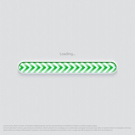 Loading web design green