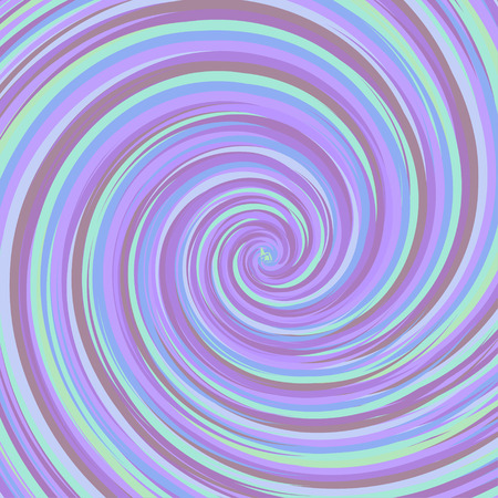 virid: Swirling backdrop. Spiral surface with space for text. Vector Illustration