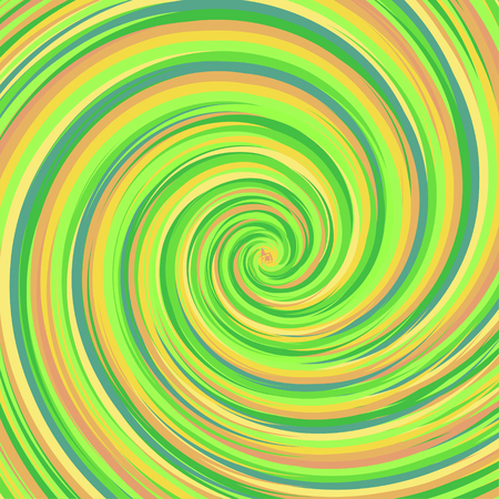 Swirling backdrop. Spiral surface with space for text. Vector Illustration