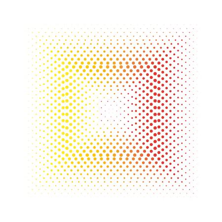 square spots design element Illusztráció