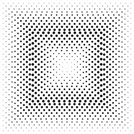 Halftone effect square
