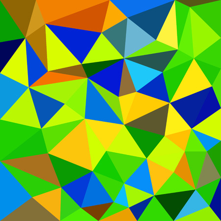 deltoid: Triangular abstract background Illustration