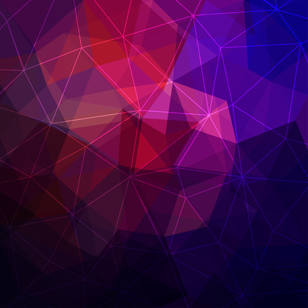 Triangular abstract background Vettoriali