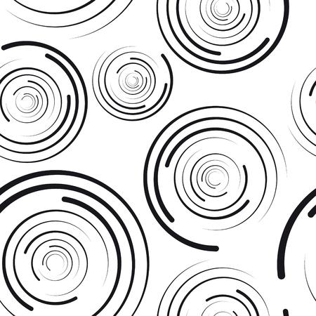 cercles concentriques seamless