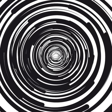 concentric circles abstract background Ilustração