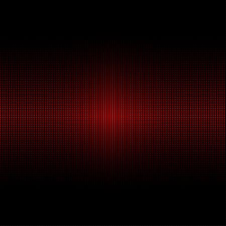 Digital equalizer. Vector illustration Illusztráció
