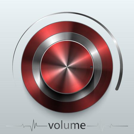 brassy: button volume Illustration