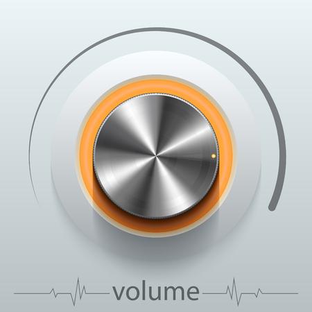 button volume Illustration
