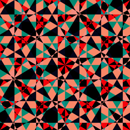 reiteration: Abstract geometric seamless pattern Illustration