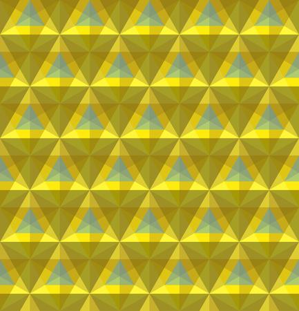 Triangular geometric seamless pattern
