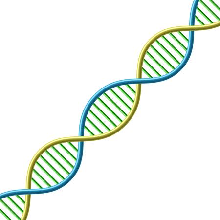DNA symbol. Vector Illustration Ilustração