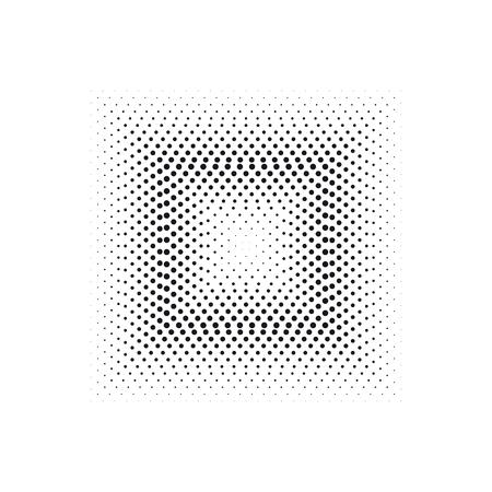 하프 톤 효과 사각형