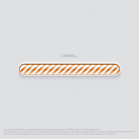 Loading web design orange
