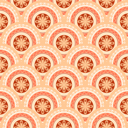 Seamless abstract geometric pattern. Seamless background. Vector Illustration