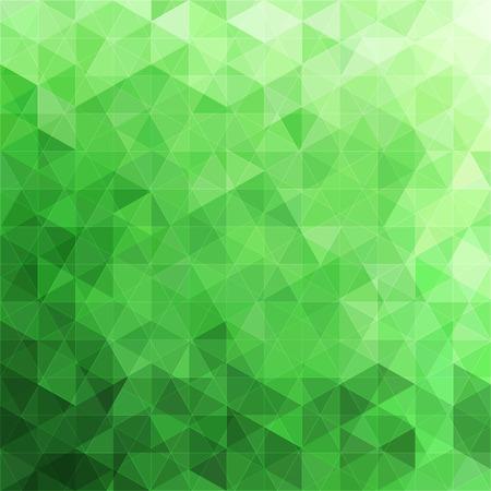 Driehoekige abstracte achtergrond Stock Illustratie