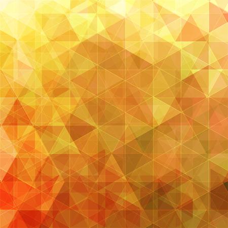 triangular abstract background orange