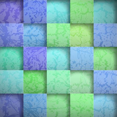 추상적 인 배경 돌 사각형입니다. 벡터 일러스트 레이션