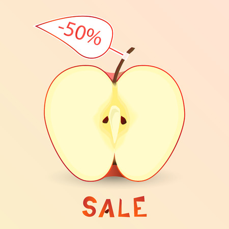 An apple sale