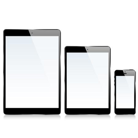 A ipad iPhone 向量圖像