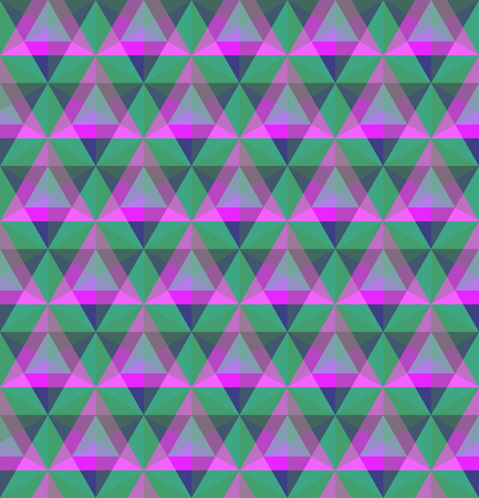 Triangular geometric seamless pattern