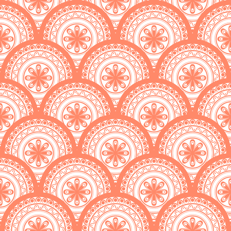 A Seamless abstract geometric pattern. Seamless background. Vector Illustration Illustration
