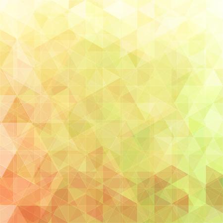Driehoekige abstracte achtergrond groen en rood
