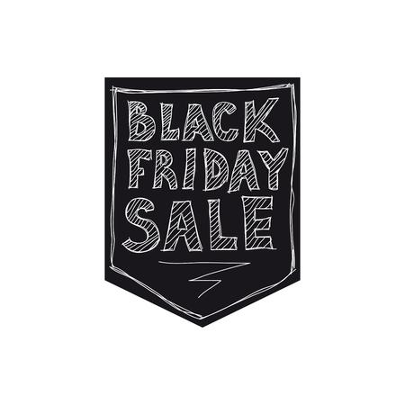 검은 금요일 판매. 자유형 그리기 스톡 콘텐츠 - 78822413