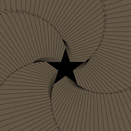 Star abstract background. Vector Illustration Ilustracja