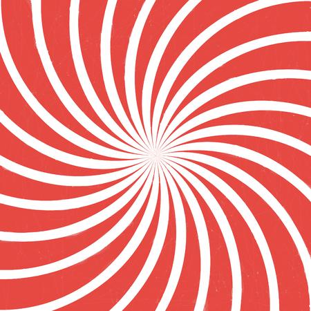 rode spiraalvormige wijnoogst