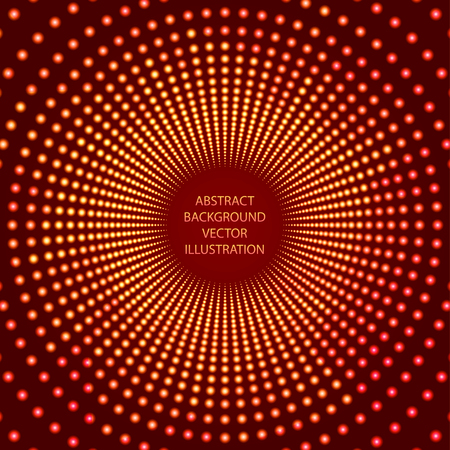 doubling: Illumination abstract background. Vector Illustration