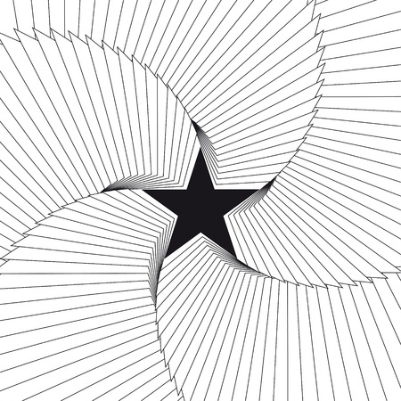 Star abstract background. Vector Illustration 向量圖像