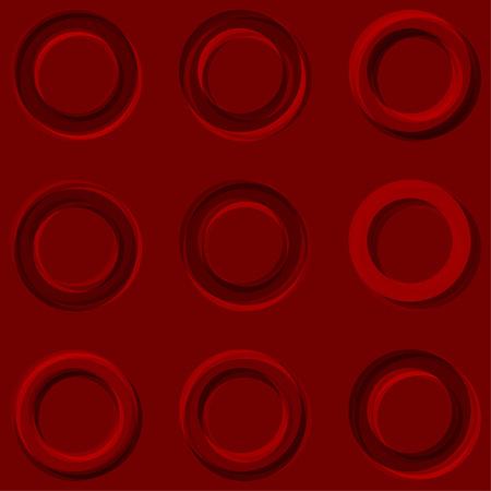 Concentric pop art background. Pop art design element for Your business project. Vector Illustration Ilustração