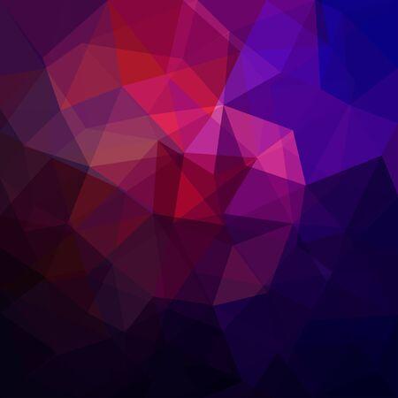 Triangular abstract background Illustration